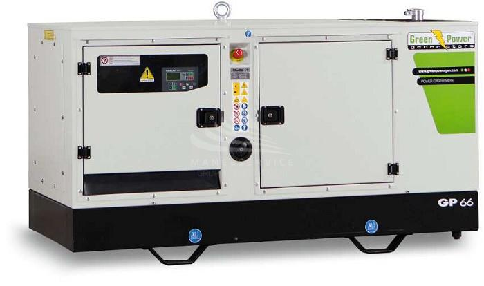 GREEN POWER GP 135 S-I-N-A - CENTRALINA AUTOMATICA, ALTERNATORE MECC ALTE