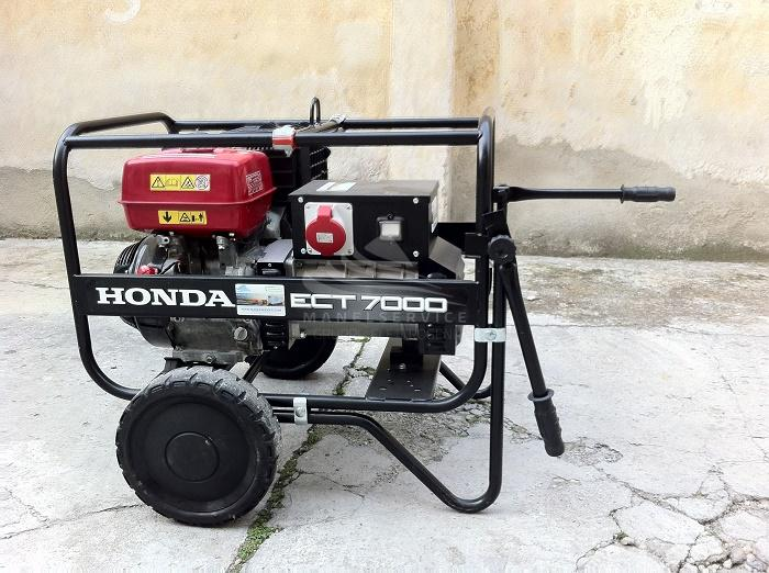 HONDA Carrello Magic Trolley per generatori serie EG ECT 7000 e motopompe WT 20 WT30 WT40